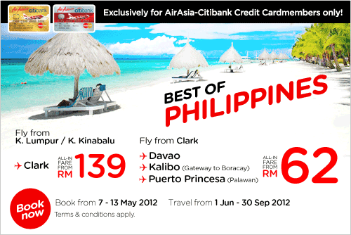 AirAsia Promotion - Best of Philippines