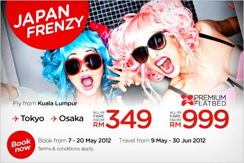AirAsia Promotion - Japan Frenzy