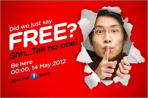 AirAsia Promotion - Did we just say FREE?