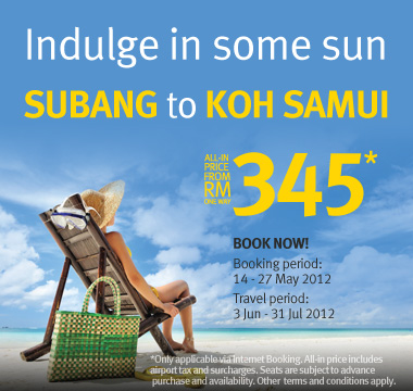 Firefly Promotion - Indulge in some sun