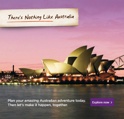 Malaysia Airlines Promotion - There's nothing like Australia