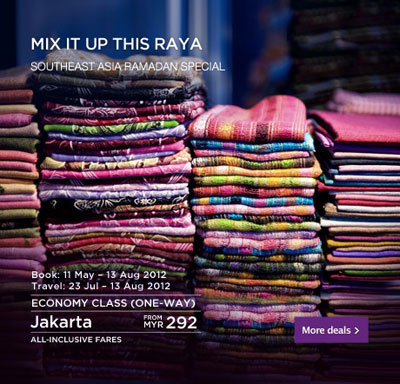 Malaysia Airlines Promotion - Mix it up this RAYA