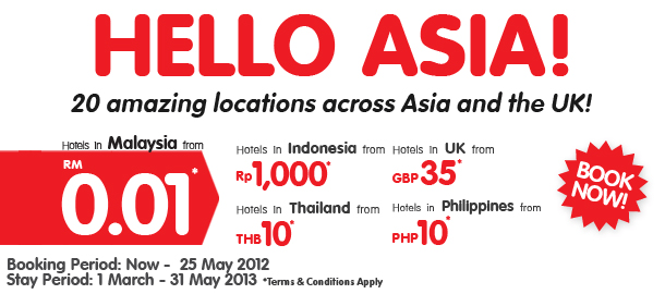 TuneHotels Promotion - Hello Asia