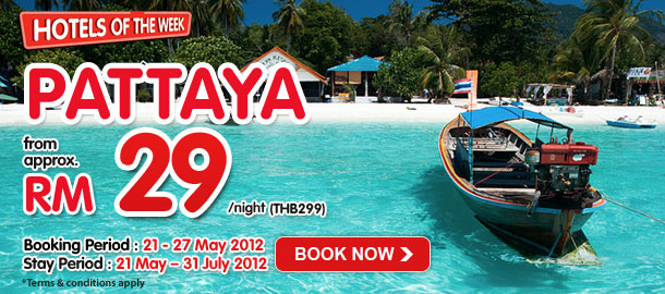 TuneHotels Promotion - Pattaya