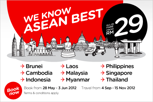 AirAsia Promotion - We Know ASEAN Best