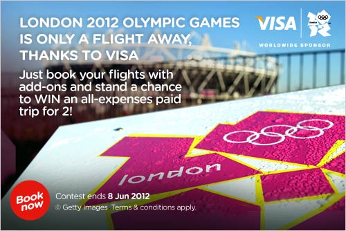 AirAsia Promotion - Fly away to the Olympics with VISA