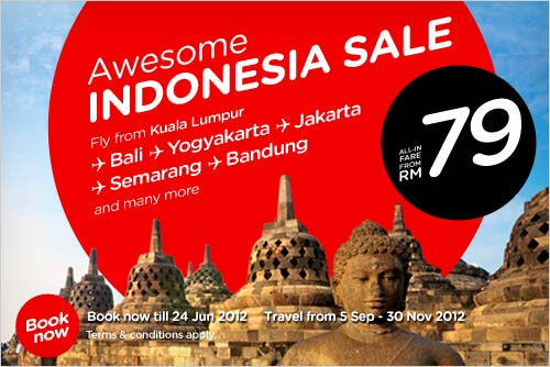 AirAsia Promotion - Awesome Indonesia Sale