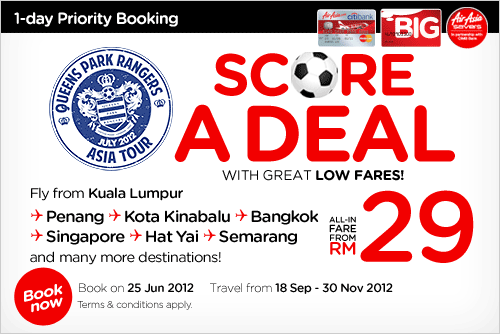 AirAsia Promotion - Score A Deal With Great Low Fares