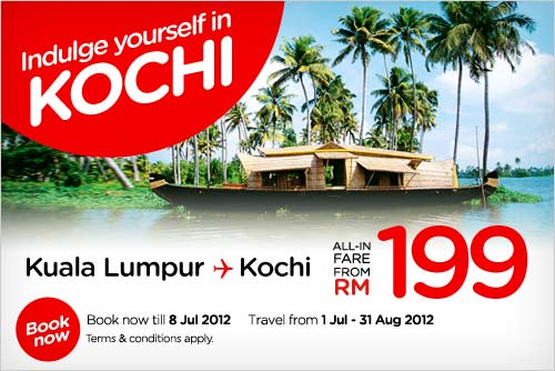 AirAsia Promotion - Indulge Yourself in Kochi