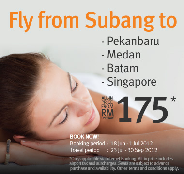 Firefly Promotion - Fly from Subang