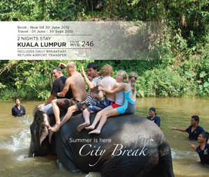 Malaysia Airlines Promotion - City break