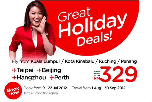 AirAsia Promotion - Great Holiday Deals