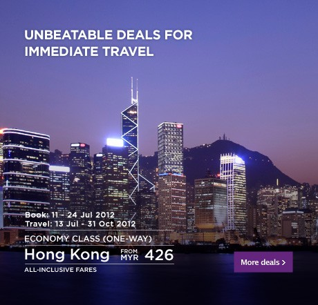 Malaysia Airlines Promotion - Unbeatable Deals