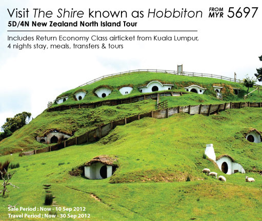 Malaysia Airlines Promotion -The Shire known as Hobbitan