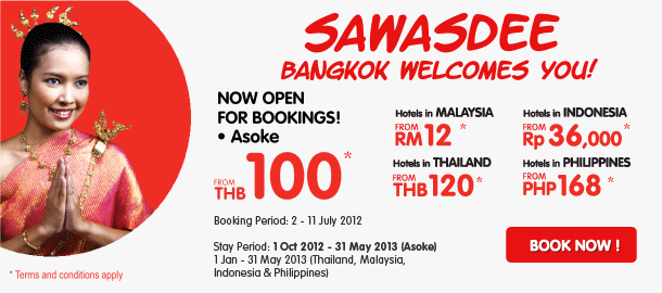 TuneHotels Promotion - Bangkok welcomes you
