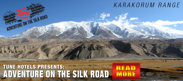 TuneHotels Promotion - Adventures on the Silk Road