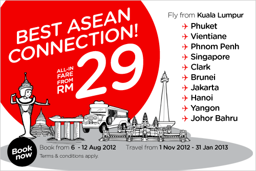 AirAsia Promotion - Best Asean Connection