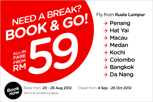 AirAsia Promotion - Need A Break