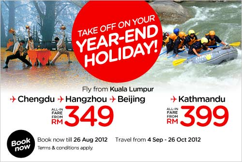AirAsia Promotion - Year-End Holiday