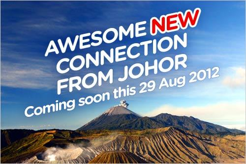 AirAsia Promotion - New Connection From Johor