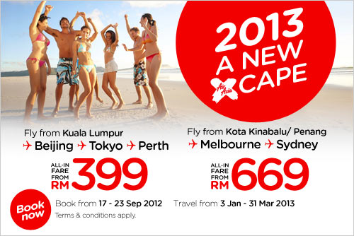 AirAsia Promotion - 2013 A New Xcape