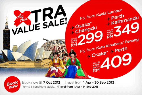 AirAsia Promotion - Extra Value Sale