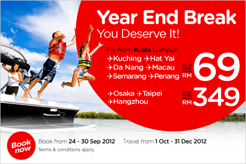 AirAsia Promotion - Year End Break