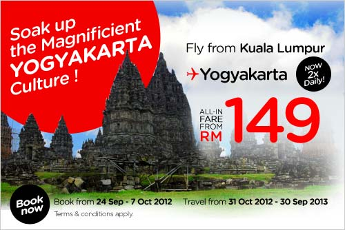 AirAsia Promotion - Magnificient Yogyakarta Culture