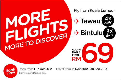 AirAsia Promotion - More to discover