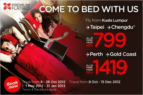 AirAsia Promotion -Come To Bed With Us