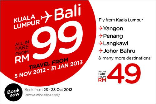 AirAsia Promotion -Light Up Your Year End