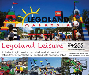 Malaysia Airlines Promotion - Legoland