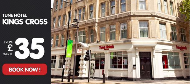 TuneHotels Promotion - Kings Cross, London