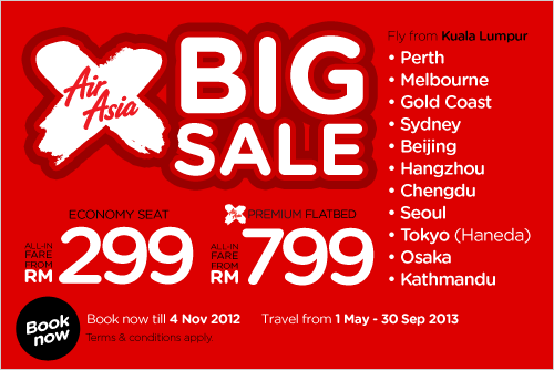 AirAsia Promotion - AirAsia X Big Sale