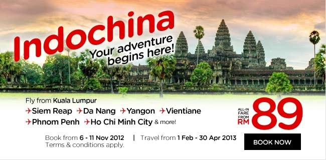 AirAsia Promotion - Indochina
