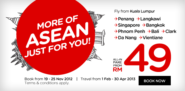 AirAsia Promotion - More of Asean