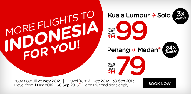 AirAsia Promotion - More Flights To Indonesia