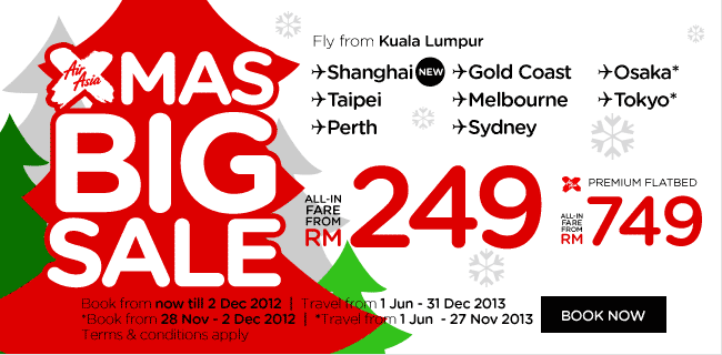 AirAsia Promotion - Xmas Big Sale