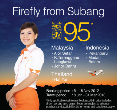 Firefly Promotion - Firefly from Subang