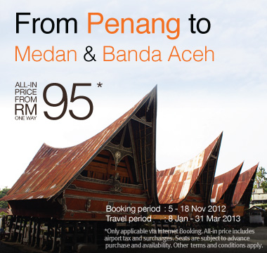 Firefly Promotion - From Penang to Medan