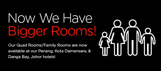 TuneHotels Promotion - Bigger Rooms