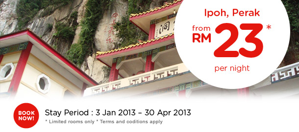 TuneHotels Promotion - Ipoh