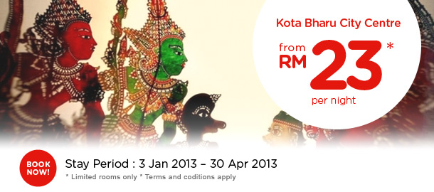 TuneHotels Promotion - Kota Bharu City Centre