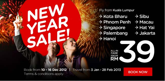 AirAsia Promotion - New Year Sale