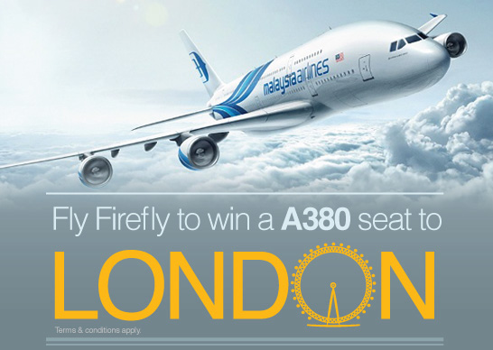 Firefly Promotion - Win a A380 Seat