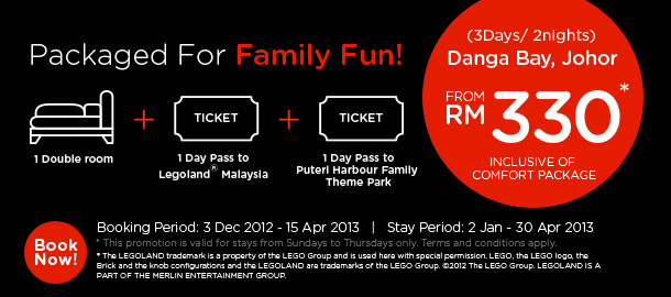 TuneHotels Promotion - Packaged for Family Fun