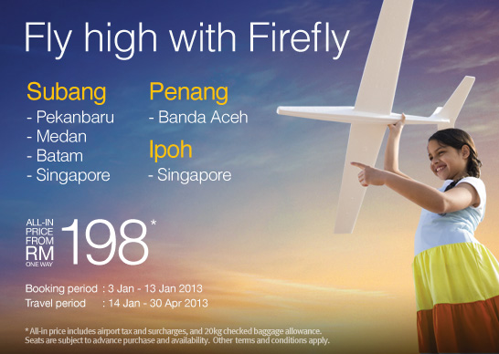 Firefly Promotion - Fly high with Firefly