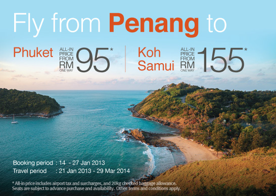 Firefly Promotion - Fly from Penang