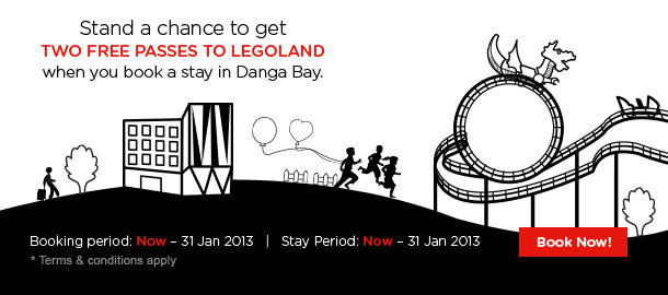 TuneHotels Promotion - Two Free Passes to Legoland