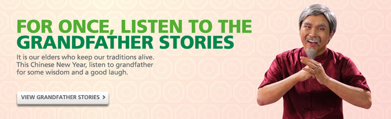 Maxis Promotion: Grandfather Stories
